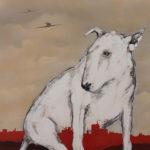 Homage to the Aviator oil painting artist Kevin de Klerk