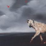 Uncertain journey oil painting artist Kevin de Klerk