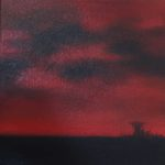It's only distance oil painting Kevin de Klerk