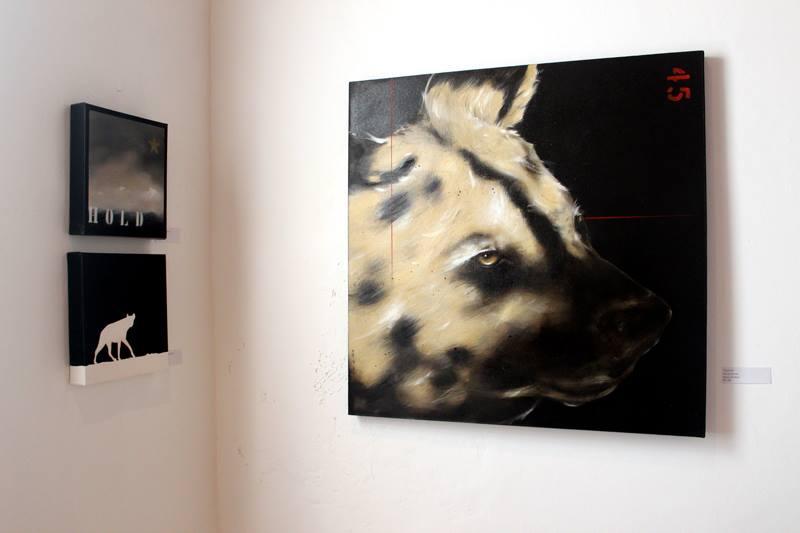 Oil painting Kevin de Klerk art exhibition