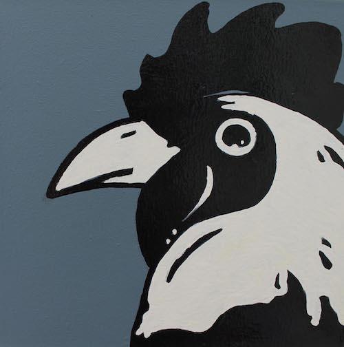Chicken pop art