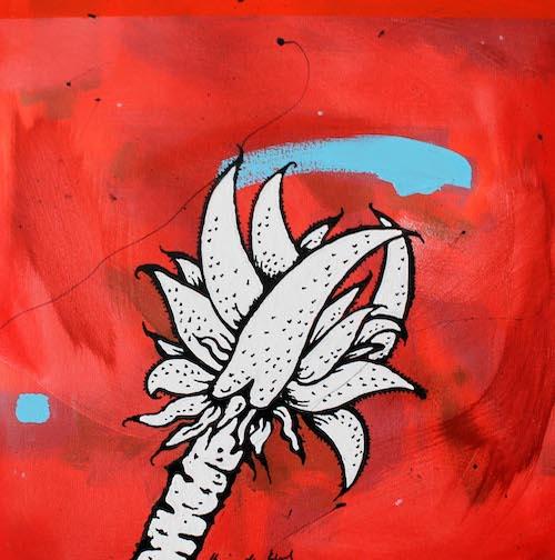 Aloe pop art acrylic