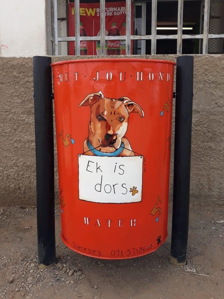 Duke the dog bin project